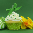 Beautiful decorated and colorful cupcake, one for each day of the week. — Stock Photo #41649191