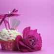 Beautiful decorated and colorful cupcake, one for each day of the week. — Stock Photo #41649629