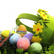 Happy Easter Springtime Eggs — Stock Photo #43443705