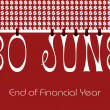 30 June Bunting Wallpaper — Stock Photo #45951977