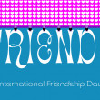 Freindship Day Bunting Wallpaper  — Stock Photo #45952085