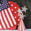 Happy Fourth of July Party Preparation. — Stock Photo