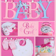Pink Baby Girl Collage — Stock Photo #46564301
