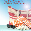 Hello Its Summer, Summertime iis here. — Stock Photo #47915713