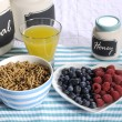 Healthy Diet High Dietary Fiber Breakfast — Stock Photo #50548999