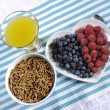 Healthy Diet High Dietary Fiber Breakfast — Stock Photo #50549011