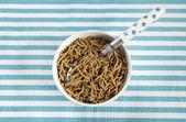 Healthy Diet High Dietary Fiber Breakfast — Stock Photo
