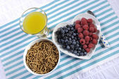 Healthy Diet High Dietary Fiber Breakfast — Foto Stock