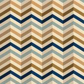 Zigzag pattern in retro colors — Stock Vector