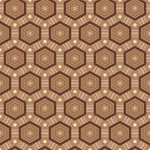 Seamless pattern in brown colors — Stock Vector