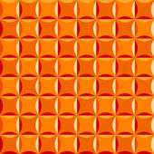 Seamless pattern in orange colors — Stock Vector