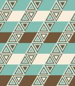 Módní vzor s trojúhelníky — Stock vektor