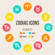 Zodiac signs — Stock Vector #35633955