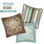 Set of decorative pillow — Stock Vector #37331609