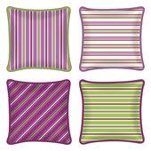 Poduszki dekoracyjne — Wektor stockowy