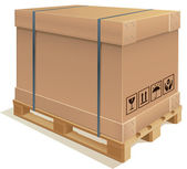 Caixa de contêiner — Vetorial Stock