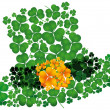 Stock Vector: Leprechauns hat