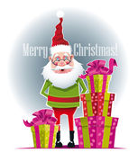 Gifts from Santa Claus — Stock Vector