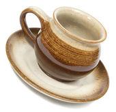 Ceramics coffee cup — Stock Photo
