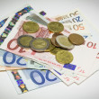 Euro paper currency — Stock Photo