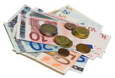 Euro currency — Foto de Stock