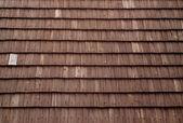 Wooden shingles — Stock Photo