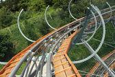 Roller coaster — Stock Photo