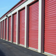 Foto de Stock  : Storage Unit Doors