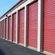 Stock Photo: Storage Unit Doors