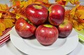 Delicious Crispy Michigan Apples — Stock Photo