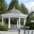 Beautiful Gazebo in pretty landscaped park — Stock Photo #40489345