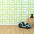 Design wall painted room baby flower — Stock Photo