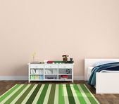 Kidsroom playroom — Stock Photo
