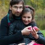Amazing couple portraits — Stock Photo #32866797