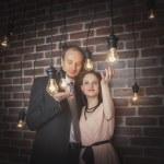 Amazing couple portraits — Stock Photo #42777161