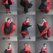 Flamenco collage — Stock Photo #48454375