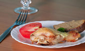 Chicken Dinner — Stock Photo