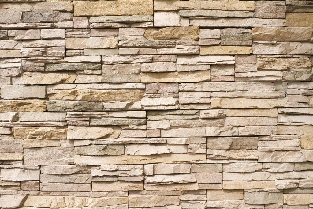 Stenen Muur Voor Binnen : Gestapelde stenen muur achtergrond ...