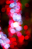 Red bokeh — Stock Photo