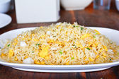 Crab Fried Rice — Stock Photo
