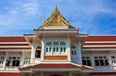Ubosot in Temple of The Wat Rhai Pa, Trat, Thailand — Stock Photo
