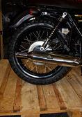 Motorbike exhaust pipe — Stock Photo