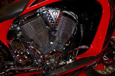 Chopper engine2 — Stok fotoğraf