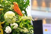Vegetable carving — Stock Photo