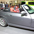 Постер, плакат: HONDA S2000 show at the second Bangkok international auto salon