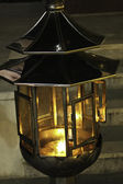 Fire lamp — Stock Photo