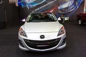 NEW MAZDA 3 show at the second Bangkok international auto salon — Stock Photo