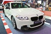 BMW 528i show at the second Bangkok international auto salon 201 — Stock Photo