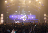 STEVE AOKI show at 808 FESTIVAL 2013 — Stock Photo
