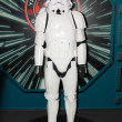 A model of the character Storm Trooper from the movies and comic — Stock Photo #46396041